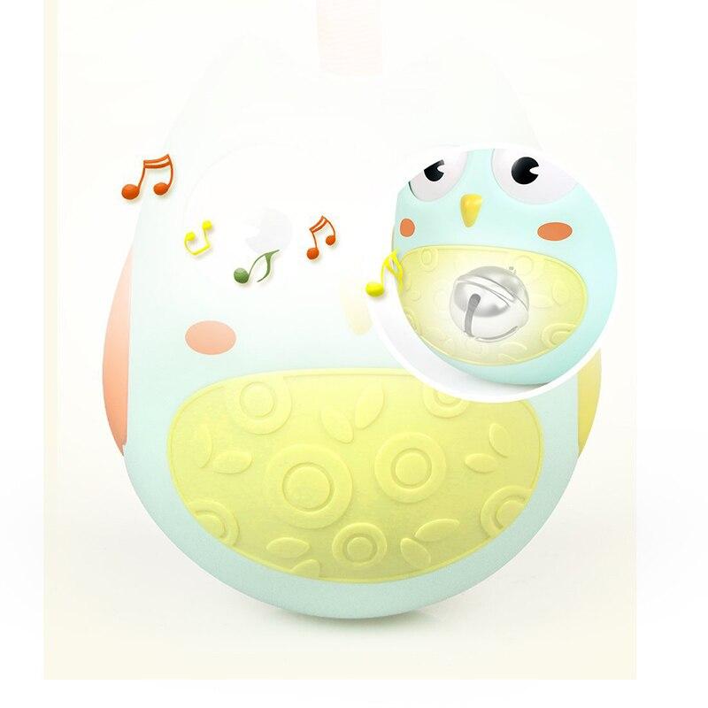 OnnPnnQ Cute Baby Toy Nodding Moving Eyes Owl Doll Baby Rattles - Խաղալիքներ նորածինների համար - Լուսանկար 3