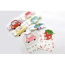 2 Pcs/set Baby Sweat Towel Stuff for Newborns 100% Cotton 1-3 Year Infant Girl/Boy Wash Cloth Back