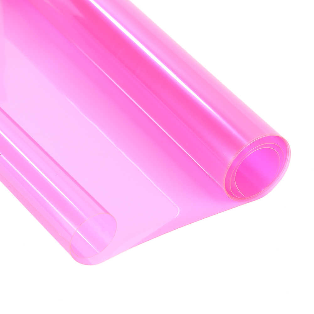 30*60 ซม. รถสติกเกอร์ฟิล์ม Self - Adhesive หมอกไฟหน้าไฟท้ายโทนสีไวนิลฟิล์ม 3 ชั้นสติกเกอร์รถ