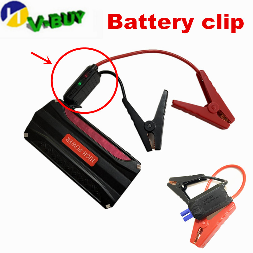 10pcs/lot Emergency Lead Cable Battery Alligator Clamp Clip For Car Trucks Jump Starter