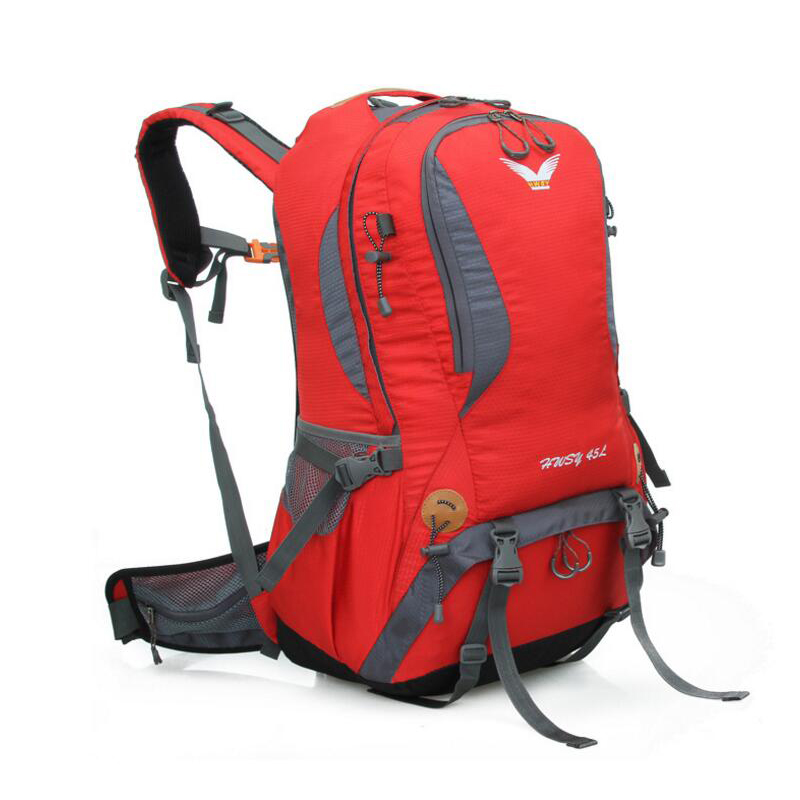 New Waterproof Outdoor Sport Nylon Backpacks 2016 New Women Travel Backpack  High Quality Hot Men Mountaineering Hiking Bags-in Climbing Bags from Sports  ... 8321f70984
