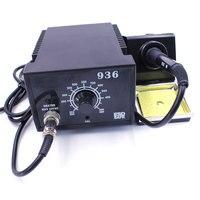 Soldering Electric Iron ESD Adjustable Constant Temperature Antistatic Solder Rework Repair Station 936 55W 110V / 220V EU / US Electric Soldering Irons