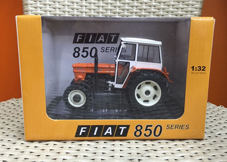 New Arrived Fiat 850 DT Super Me Kabinën 1:32 Shkallë DieCast Model Tractor UH5300