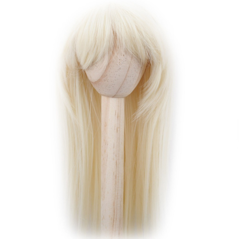 [wamami] 02# Blonde Straight Wig MSD DOD DZ 1/3 BJD Dollfie 8-9 disado 21 frets tiger flame maple wood color electric guitar neck guitar parts guitarra musical instruments accessories