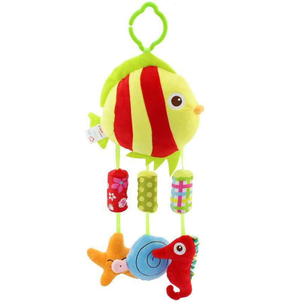 Baby Stroller Crib Pram Bed Hanging ToyAccessories Appease Soothing Wind chimes Toy Cute baby Nursery Room WindChimes Kids gifts