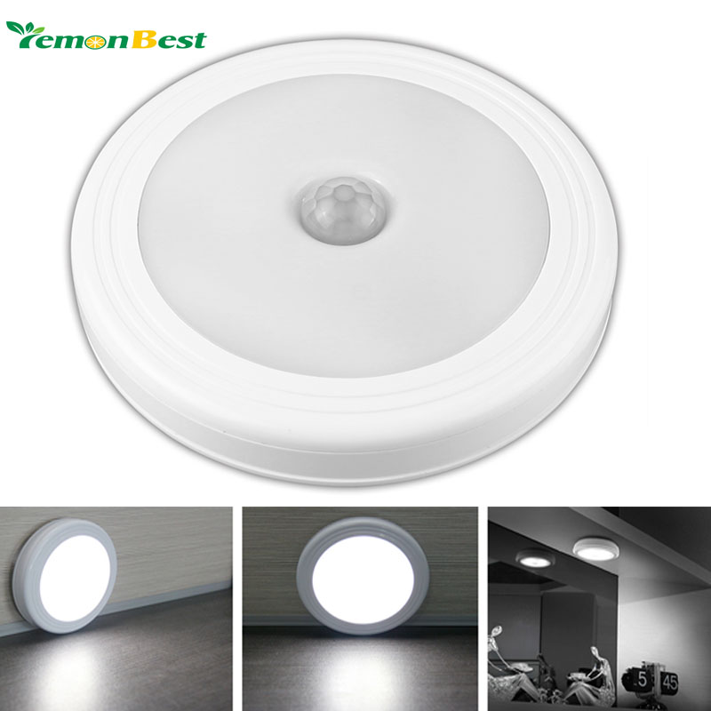 Aliexpress buy magnetic infrared ir bright motion sensor aliexpress buy magnetic infrared ir bright motion sensor activated led wall lights night light auto onoff battery operated for hallway pathway from mozeypictures Images