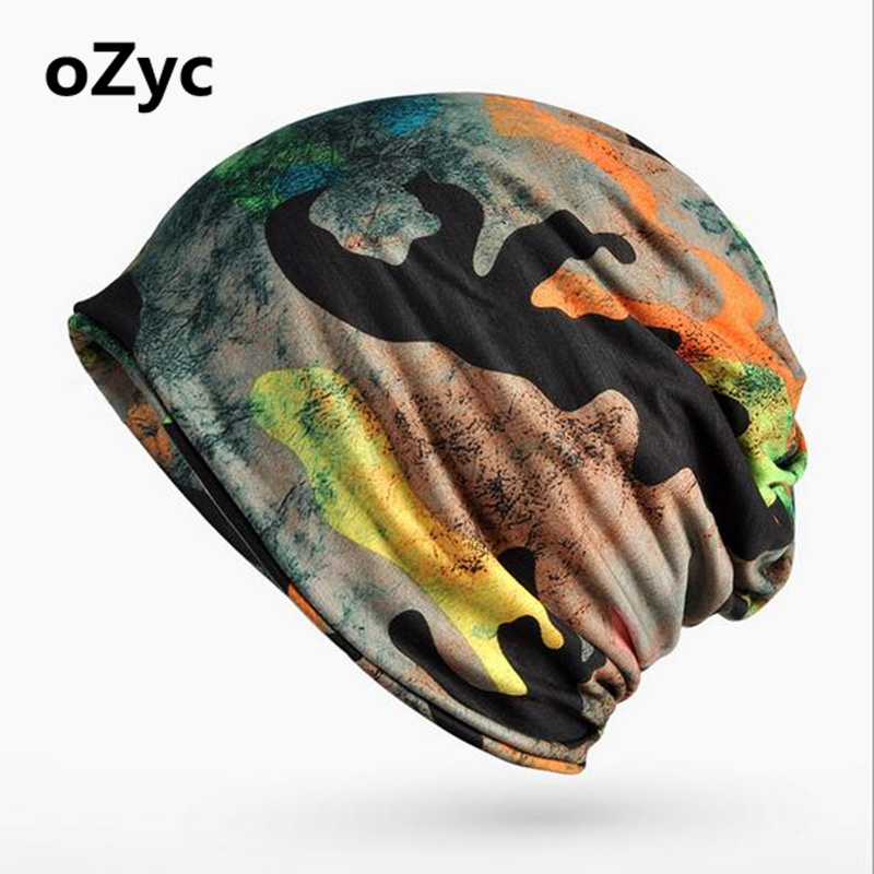 New  2 Use Camouflage Cap Knitted Scarf & Winter Hats for Women Letter Beanies Women Hip-hot Skullies girls Gorros women Beanies rosicil skullies beanies winter hats for women letter beanies women hip hot caps skullies girls gorros women beanies female