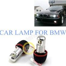 high quality car lamp  2*10W for BMW E82/E87 E90 sedan E91 touring E92  CREE Angel Eyes LED Marker