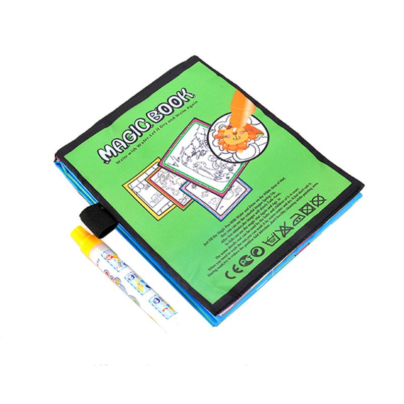 New-Magic-Kids-Water-Drawing-Book-1-Magic-Pen-Children-Intimate-Coloring-Book-Water-Animals-Painting-Board-wholesale-2