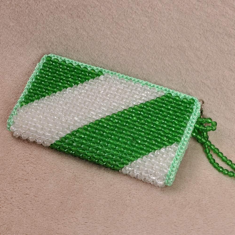 handmade bag 2015 beaded bags diy womens handbag single zipper ...