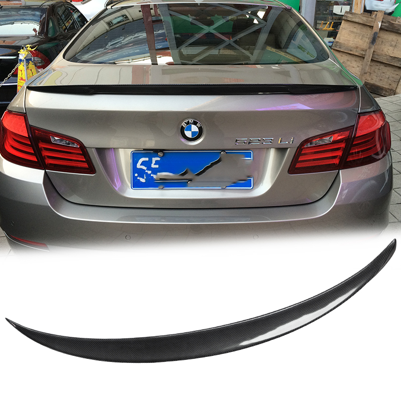 UHK Carbon Fiber Rear Spoiler For BMW 5 Series F10 f18 520 525 528 535li Spoyler  Wings Accessories Trunk Spoyler Car Styling|Spoilers & Wings|   - title=