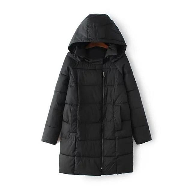2016 algodão Remendo jaqueta mulheres algodão-acolchoado Com Capuz jaqueta de inverno feminino plus size M-3XL roupas femininas espessamento mulher parkas