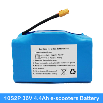 36v 4.4ah battery for scooter 10S2P 20pcs battery inside with PCB lithium battery scooter forScooter 2 Wheels Scooter battery AU
