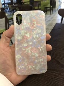 Image 2 - Luxury Marble Granite Stone Cover For iPhone X Soft TPU Case For iPhone 7 8 Case Silicon Case Capa