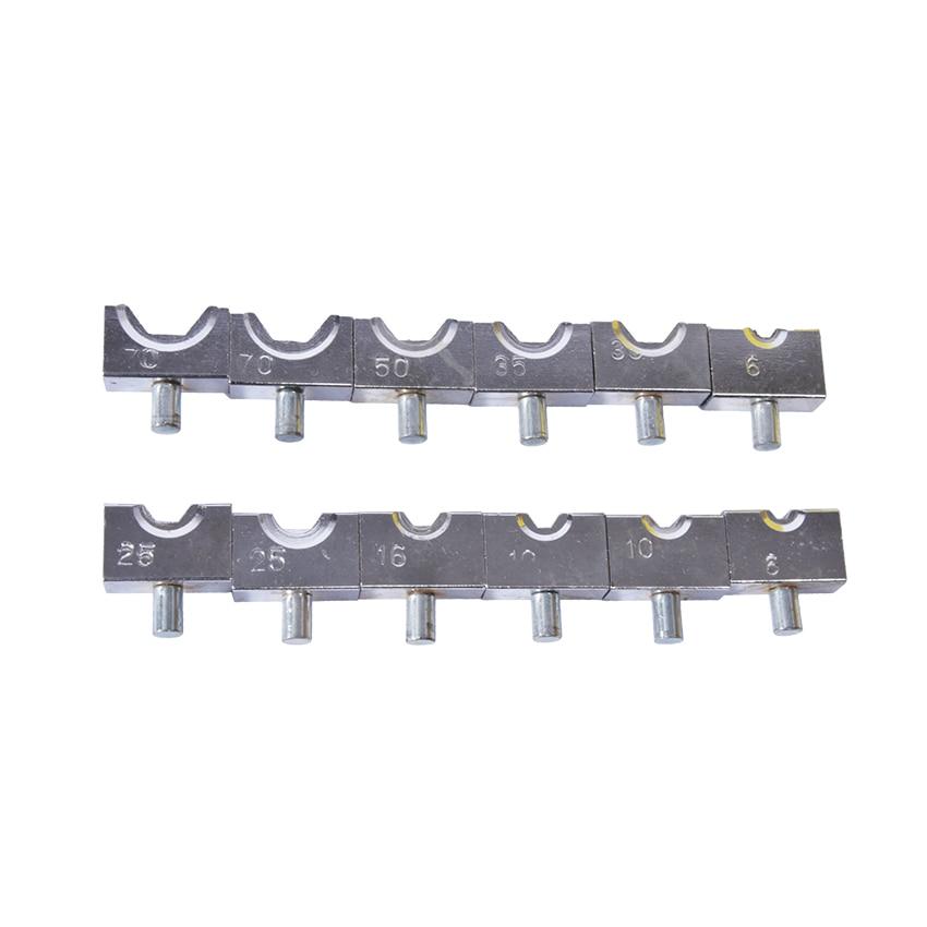 1 pc 6-Ferramenta de Friso Hidráulica YQK-70 70mm
