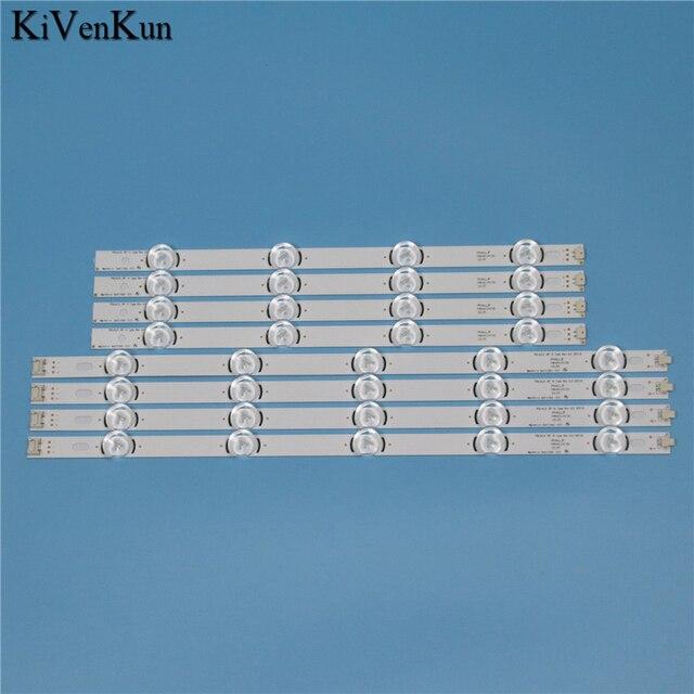 """מנורות LED תאורה אחורית רצועת עבור LG 39LN5757 39LN5758 39LN575R 39LN575S  ZE טלוויזיה אור ברים ערכת LED להקת POLA2.0 39 """"A B סוג"""