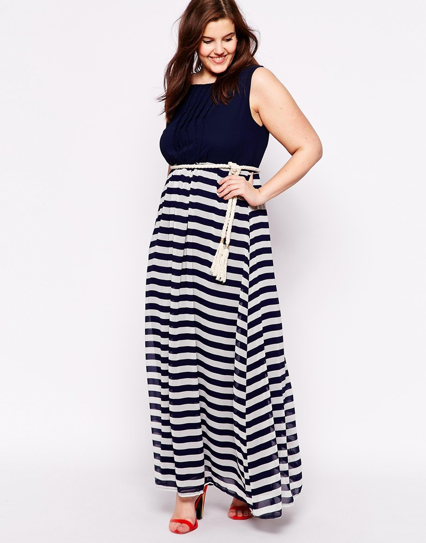 Beach maxi dress plus size