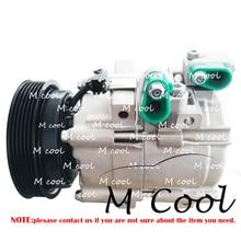 купить High Quality A/C Compressor For Car Hyundai Santa Fe Trajet Santa For Car Kia Optima 2.5L 2.7L 977013A671 9770126300 97701-39181 онлайн