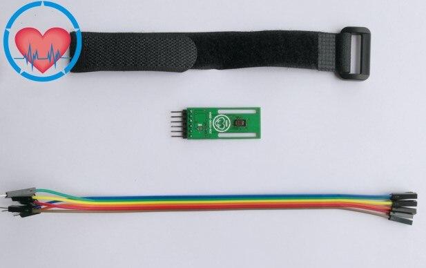 Бесплатная доставка HXDZ-30102-ACC обновленный MAX30102 датчик пульса оксиметрический STM32
