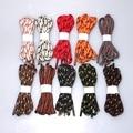 "55"" Round Shoelaces Shoe Laces Cord String w. pattern f. Martin Boots Sport Shoes 10 Color 140cm"
