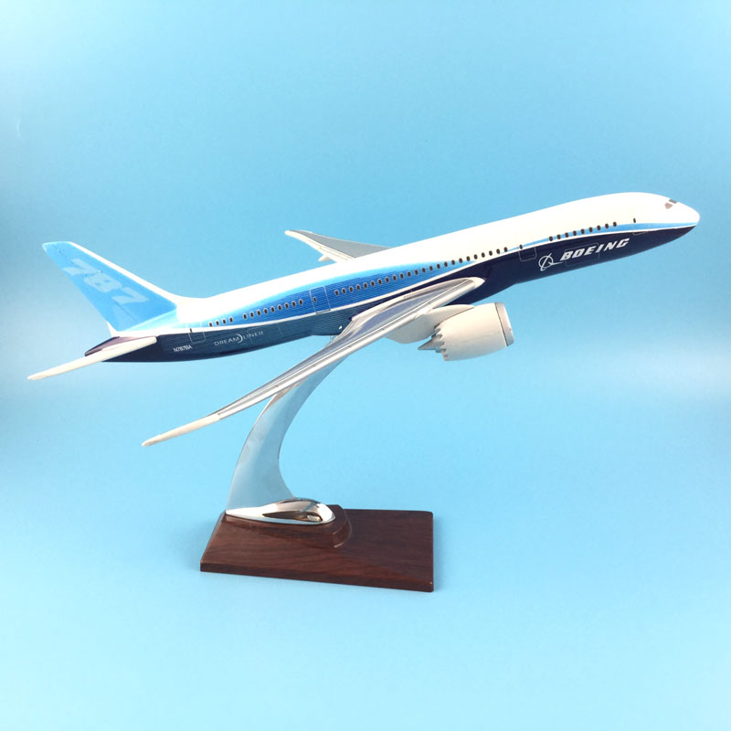 FREE SHIPPING 31CM BOEING 787 LIVERY METAL BASE RESIN MODEL PLANE AIRCRAFT MODEL TOY AIRPLANE BIRTHDAY GIFT free shipping 16cm 757 dhl metal alloy model plane aircraft model toy airplane birthday gift