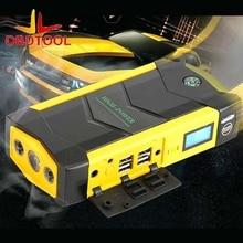 69800 мАч автомобиля Пусковые устройства большой разряда Diesel Мощность банк для автомобиля Двигатель автомобиль усилитель Start джемпер Батарея желтый