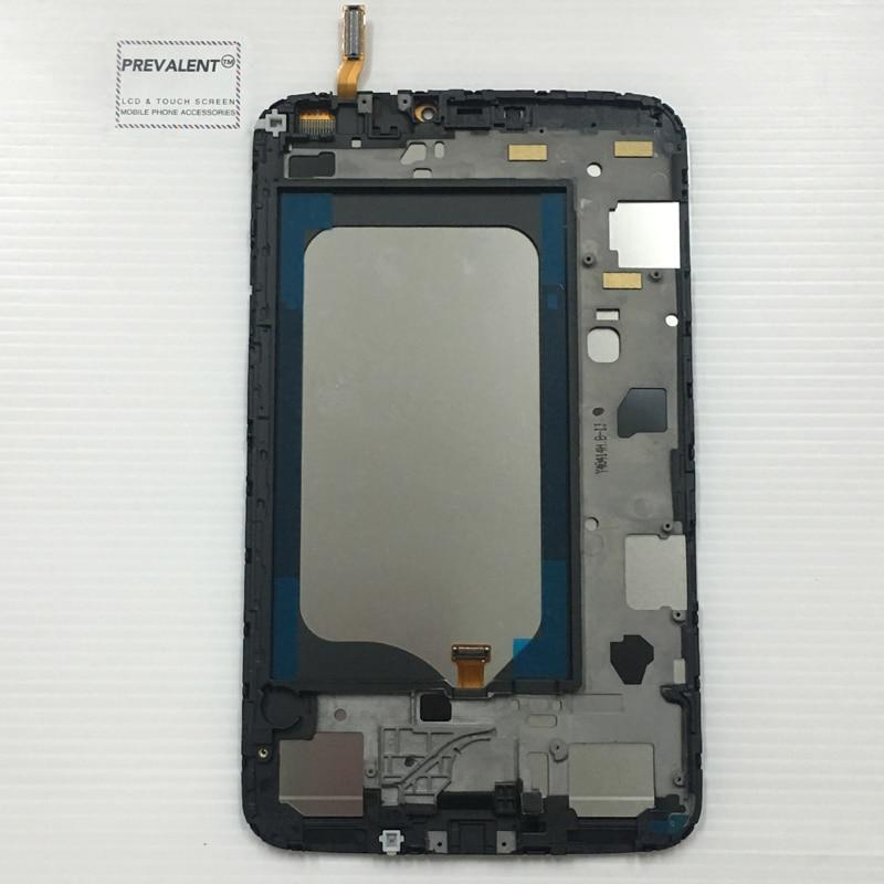 все цены на for Samsung Galaxy Tab 3 8.0 SM-T310 T310 Touch Screen Digitizer Sensor Glass + LCD Display Panel Monitor Assembly + Frame онлайн