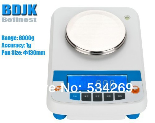 6000g Electronic Balance Measuring Scale Counting Balance and Weight Balance with 1g Scale 2000g electronic balance measuring scale with different units counting balance and weight balance