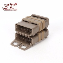 5.56mm Double Magazine Pouch Tactical M4 Gear Bag Quick Fast