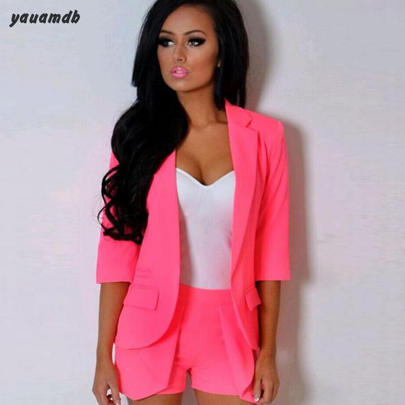 Popular Womens Blazer Jacket Pink-Buy Cheap Womens Blazer Jacket ...