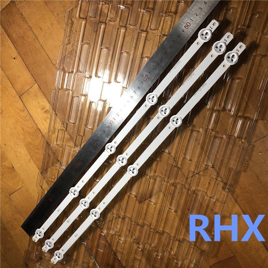 530mm LED Backlight Strip For Proline Bravis 28C2000B 28 Inch TV L2830HD SVJ280A01 REV3 5LED 130402 M280X13 E1 H  100%NEW