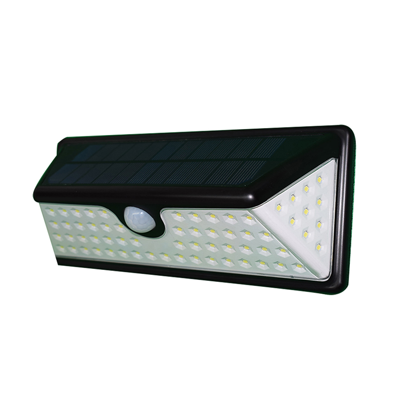 JianBian LED Solar Lamp Light Human induction + light control Waterproof IP65 Power Garden LED Solar Outdoor PC Wall Lamp 5W