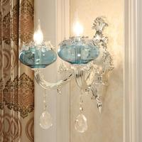 Wandlampe Badkamer Verlichting Lampara De Vanity Light Crystal Aplique Luz Pared Applique Murale Luminaire Wandlamp Wall Lamp