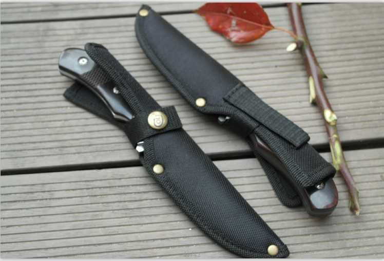 Free Shipping New font b Tactical b font Survival Fixed Blade Straight font b Knife b