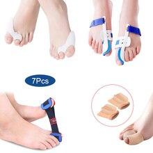 Household Bunion Corrector Relief Kits Professional Adjustable Splint Soft Pads for Hallux Valgus Pain Toe Straightener FM88