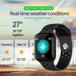Image 4 - Reloj inteligente Wearpai F8 para hombre IP67, dispositivo impermeable para llevar, Monitor de ritmo cardíaco, pantalla a Color, relojes deportivos para Android IOS
