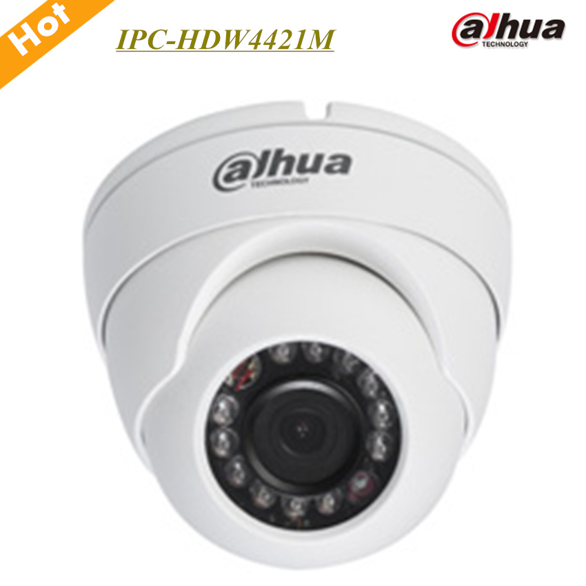 Dahua 4MP HD WDR Network IR Eyeball Camera IPC HDW4421M Support Smart Detection and Poe Max