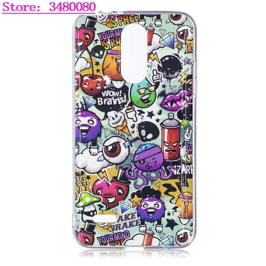 Luminous Painting Phone Case for LG K4 K 4 2017 M160 M151 LGK4 2017 Rebel 2  L57BL Glow in the Dark Soft TPU Silicone Phone Cover