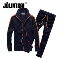 Jolintsai Brand 2017 Casual Men Clothing Set Hoodies +Pants Tracksuit Men Sudaderas Hombre Men Fashion Sweatshirt 2 pieces set