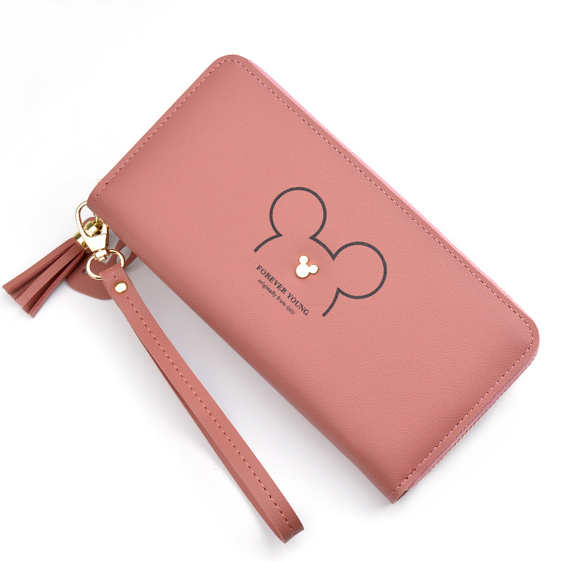 INS 2018 Christmas Fashion Ladies Wallet Preppy Style Long