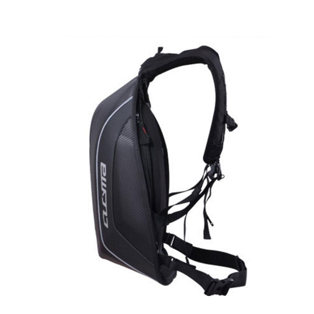 59f71b09d081 CUCYMA Motorcycle Bag Waterproof Motorcycle Backpack Carbon Fiber Motocross  Racing Riding Helmet Bag Motorbike Backpack