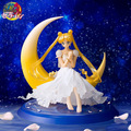 NEW hot 13cm Sailor moon Action figure toys doll collection Christmas gift with box