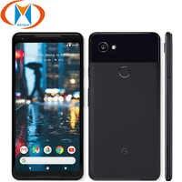 "Original Neue UNS Version Google Pixel 2 XL 64GB 128GB Handy 6 ""Snapdragon 835 Octa Core 4GB RAM Fingerprint 4G Smartphone"
