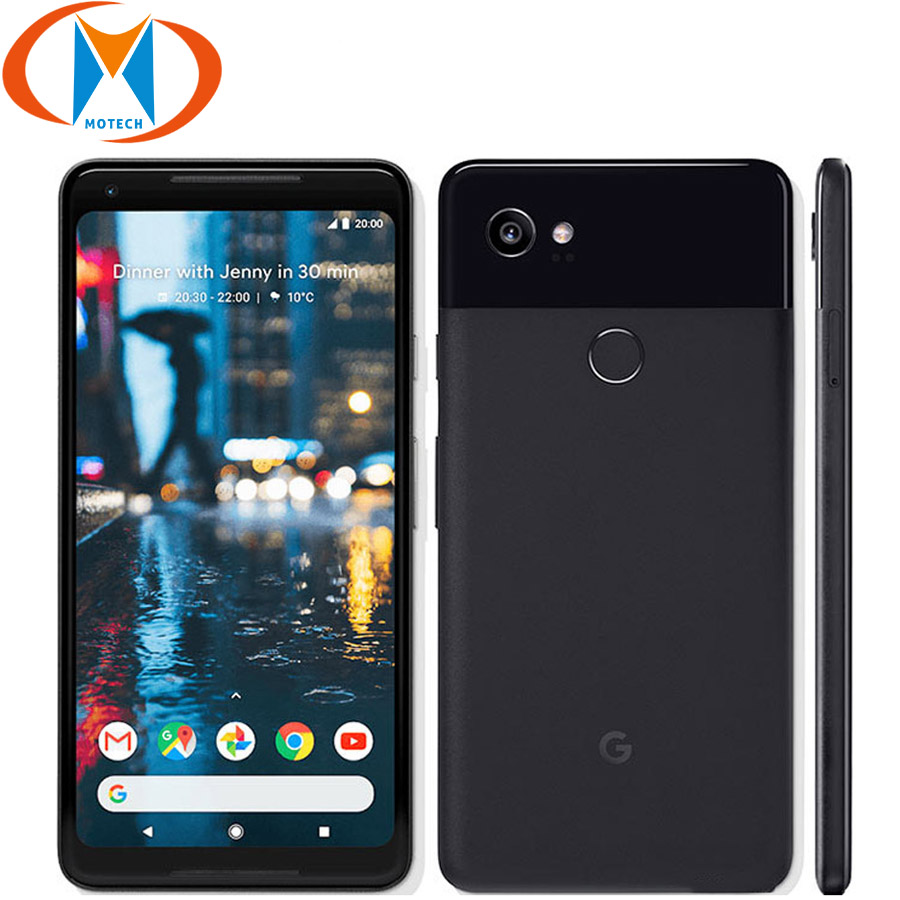 Original New US Version Google Pixel 2 XL 64GB 128GB Mobile Phone 6 Snapdragon 835 Octa Core 4GB RAM Fingerprint 4G Smartphone image