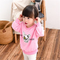 2016 Rushed Breathable Cotton New Children's Clothing And Accessories Boy Girl's Hoodie Small Children Cute Cartoon Dog L021