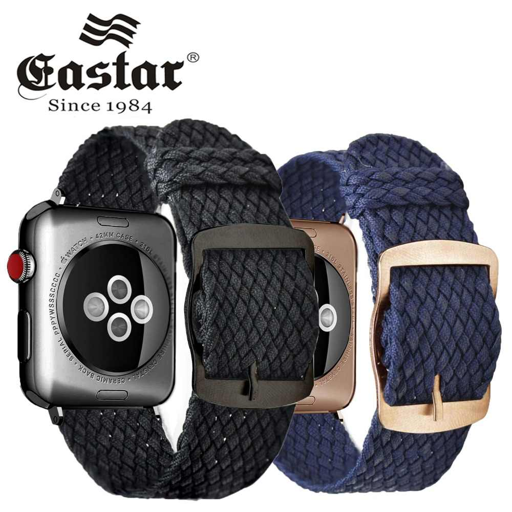 EASTAR Fashion Loop strap Nylon wrist bracelet watch Accessories For Apple Watch band 3 42mm 44mm for iwatch band 4 38mm 40mm