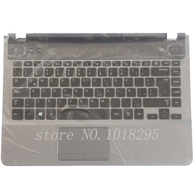 NEW Latin keyboard for Samsung NP500P4A NP500P4C Q468 LA keyboard palmrest cover
