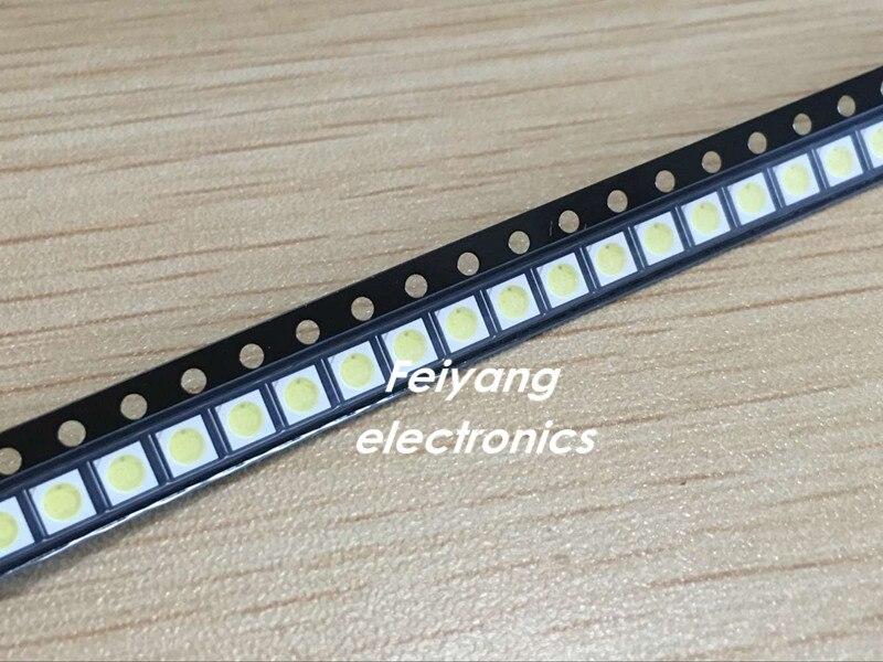 200pcs Lextar LED Backlight High Power LED 1.8W 3030 6V Cool White 150-187LM PT30W45 V1 TV Application 3030 Smd Led Diode
