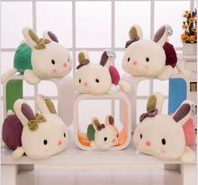 1PIECE 20cm cartoon plush rabbit toy Christmas birthday present gifts