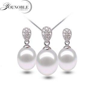 Real 925 silver jewelry set wo